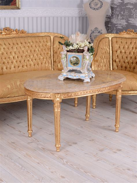 ebay canapé sofa set baroque set antique armchair marble table
