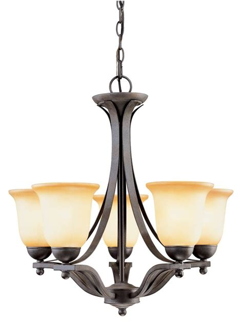 home depot chandeliers canada hton bay nickel nested 5 light chandelier the home