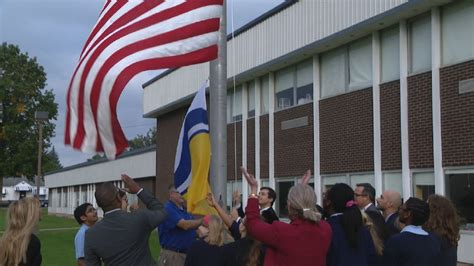 City Teachers Credit Union by New Flags For South Bend Schools Wsbt
