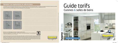 calaméo guide tarifs cuisines bains hygena 2010 2011