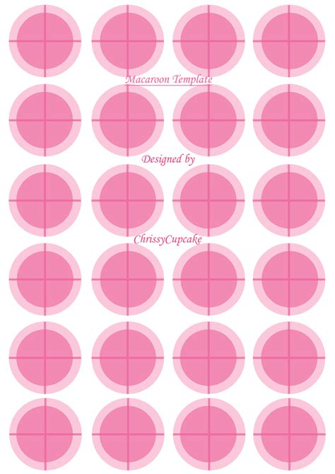 Macaron Template Macaroon Template Cakecentral