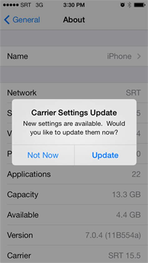 what is carrier settings update on iphone 5 ways to fix iphone 6 can t send or receive