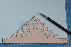 Couronne En Papier à Imprimer : couronne de princesse la reine des neiges papiers cailloux ciseaux ~ Melissatoandfro.com Idées de Décoration