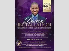 Pastoral Installation for Rev Mycal Brickhouse at Cary