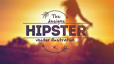 design  creative hipster logo  photoshop youtube