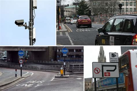 cameras on top of street lights newcastle city centre 39 s most prolific bus lane cameras
