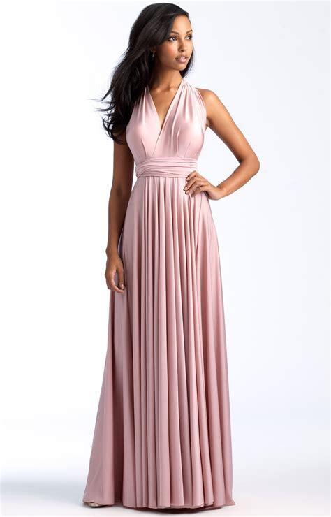 allure bridesmaids  convertible bridesmaid dress