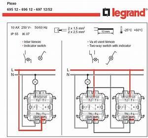 Branchement Interrupteur Temoin Lumineux Legrand : interrupteur plexo ~ Dailycaller-alerts.com Idées de Décoration