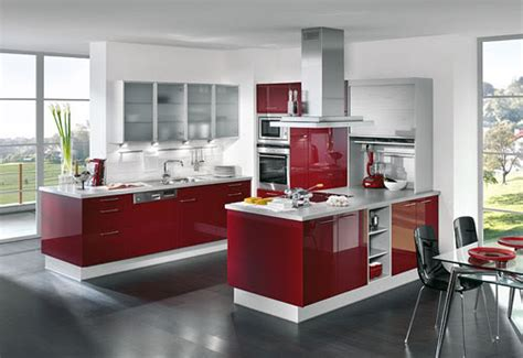 cocinas modernas pequeñas gabinete decoraciòn de cocinas