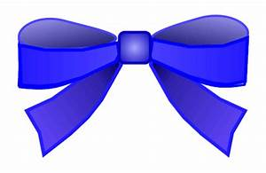 blue bow clipart 8cm wide | This clipart drawing has been ...