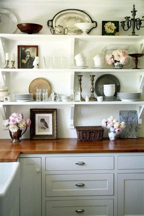 freshen  home    year kitchen shelf styling