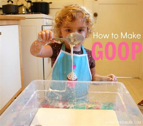 How To Make Goop  Easy And Fun Sensory Material For Kids
