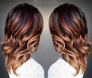 Ombré Hair Marron Caramel : 20 cute fall hair colors and highlights ideas hair type ~ Farleysfitness.com Idées de Décoration