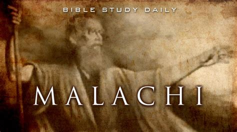 Introduction To Malachi