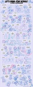 Let U0026 39 S Draw  Pony Bodies  Tutorial  2 By Sorcerushorserus