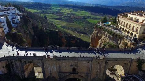 Puente Nuevo Ronda Andalusia Spain Malaga Fullhd