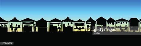 market stalls silhouette premium clipart clipartlogocom