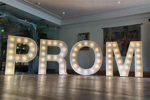 bespoke gallery the letter hire people With prom light up letters