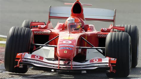 Ferrari f2004 received many good reviews of car owners for their consumer qualities. Video: Ferrari F2004 - Pure Onboard Sound V10 Engine 2004 F1 season