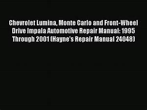 2001 Chevy Impala Repair Guides