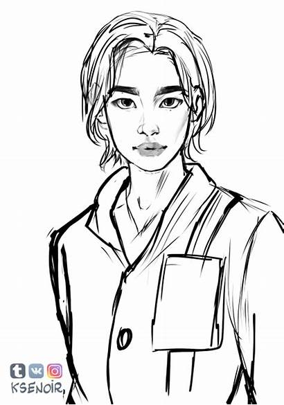 Stray Minho Drawing