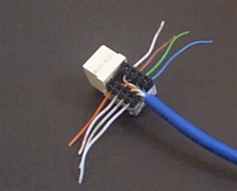 wires phone jacks solid colored diagram wiring