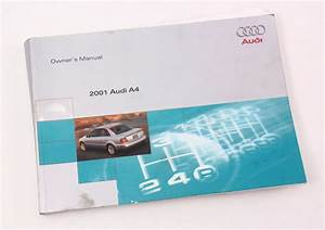 2001 Audi A4 B5 Owner U0026 39 S Manual Case Operation Book