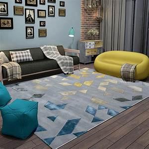 tapis pas cher design et contemporain grand tapis salon With tapis salon contemporain