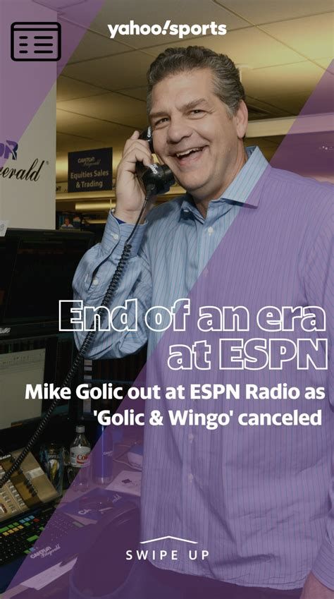 Mike Golic out at ESPN Radio as 'Golic & Wingo' canceled ...