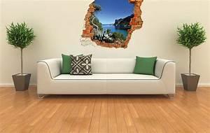 com idea un nouveau concept d39adhesif mural trompe l39oeil With trompe l oeil mural interieur