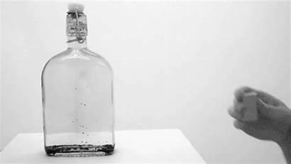 Bottle Glass Science Mechanical Experiments Gifs Ferrofluid