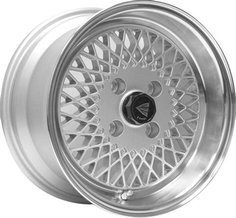 enkei classic  enkei  mesh silver   wheels