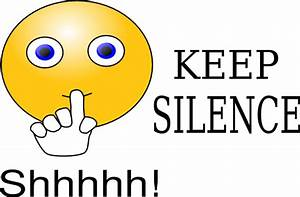 Keep Silence Clip Art at Clker.com - vector clip art ...