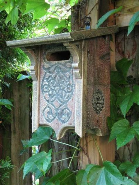 victorian bluebird house  barn wood nabs approved