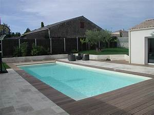 lovely contour de piscine en pierre 20 terrasse bois With lovely photo terrasse bois piscine 3 terrasses en bois