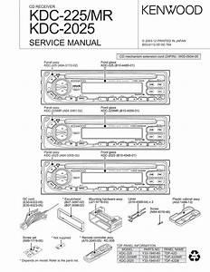 Kenwood Kdc Mp142 Wiring Diagram