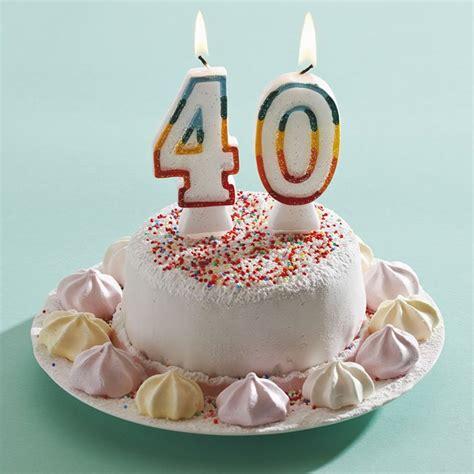 guide cuisine comment fêter ses 40 ans
