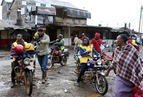 How Kenya's 'boda-boda' Bikers Are Taking