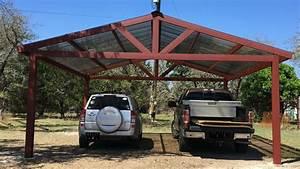 Building A Metal Carport Part 2 YouTube