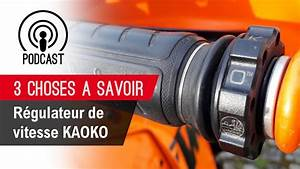 Regulateur Vitesse Moto : r gulateur vitesse kaoko youtube ~ Farleysfitness.com Idées de Décoration