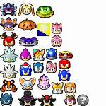 Sonic Runners Head Icons Deviantart Hedgehog Characters