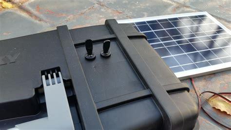 diy portable solar power supply  goby