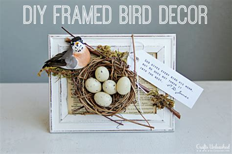 12 Cute Diy Bird Nest Decorations For Easter