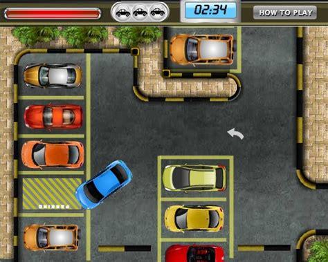 parking lot  funny car games