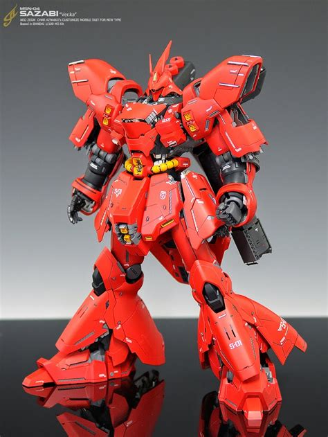 gundam guy mg  sazabi ver ka customized build