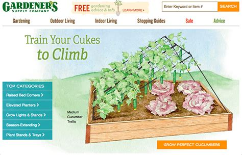 gardeners supply company ten websites to help you grow your best vegetable garden