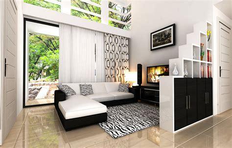 contoh desain ruang keluarga minimalis terbaru