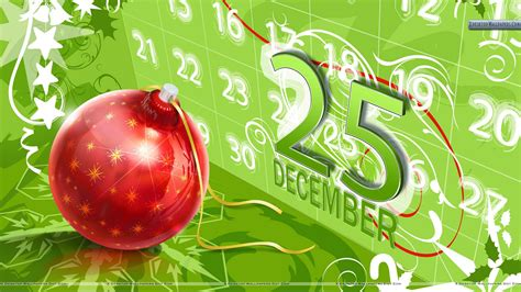 25 december christmas day wallpaper