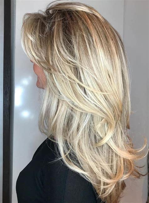 cute long layered haircuts  bangs