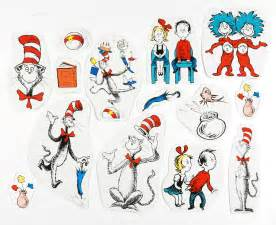 cat in the hat characters cat in the hat characters 2 sided classroom decor eureka